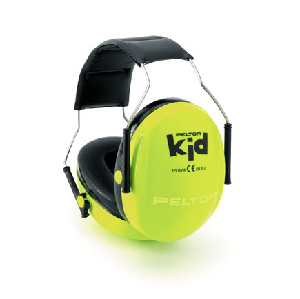Peltor Kid Verde Neon